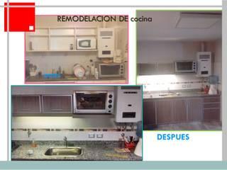 Moderne Küchen von Remodelaciones SF Modern