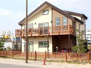 나주 혁신도시 매듭주택: 꿈꾸는목수의  주택