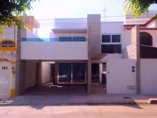 Casa HM1: Casas de estilo  por T+E ARQUITECTOS