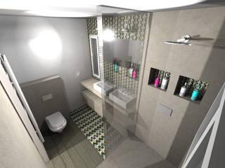 Salle d'eau nature: Salle de bains de style  par STUDIO 88