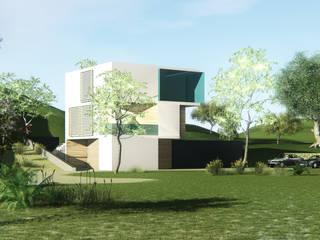 de estilo  por Archstudio Architecten | Villa's en interieur