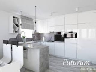 Mieszkanie przy ul. Bobrzeckiej od Futurum Architecture
