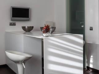 Reforma cocina en casa unifamliar Cocinas de estilo moderno de ESTILO CUINES Moderno