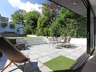 Crouch End Villa Modern style gardens by PAD ARCHITECTS Modern