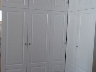 Cooperativa de la madera 'Ntra Sra de Gracia' DormitoriosClósets y cómodas Tablero DM Blanco