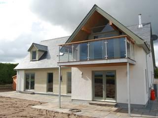 New house at Dornoch Modern balcony, veranda & terrace by Matheson Mackenzie Ross Architects Modern