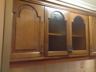 Cooperativa de la madera 'Ntra Sra de Gracia' CocinaAlmacenamiento Sintético Acabado en madera