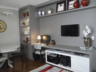 HOME OFFICE: Escritórios  por AFG Arquitetura e Interiores