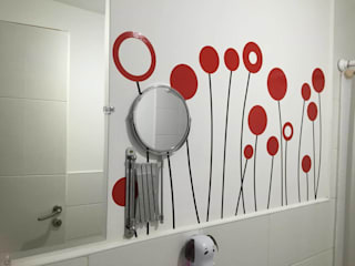 Vinilos Impacto Creativo BathroomDecoration