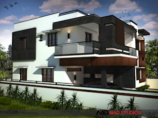 Residence Modern houses by MAD Studios Modern