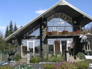 Дом в Морозово: Дома в . Автор – архитектурная мастерская МАРТ,