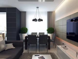 проект LIGHTHOUSE: Гостиная в . Автор – M5 studio,