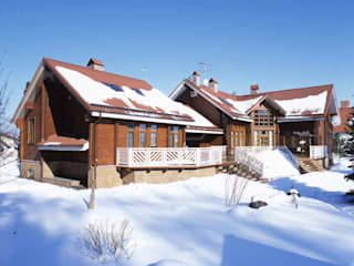 Eclectic style houses by архитектурная мастерская МАРТ Eclectic