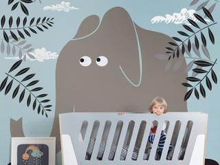 Big Friend Pixers Dormitorios infantiles de estilo escandinavo