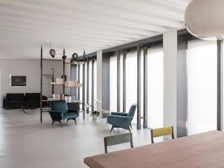 3C+M architettura Minimalist living room