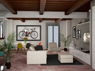 Modern living room by design WOOD Modern