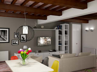 design WOOD Salon moderne