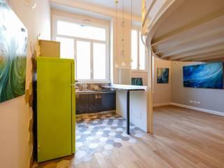 Loft [SAM] Cucina eclettica di Matteo Gattoni - Architetto Eclettico