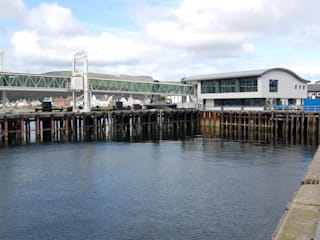 Ullapool Ferry Terminal Modern commercial spaces by Matheson Mackenzie Ross Architects Modern