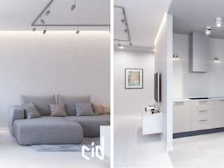 Salas de estilo minimalista de Center of interior design Minimalista