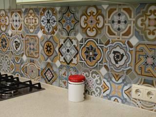 Кухня/столовая/гостиная в провансе Кухня в стиле кантри от DS Fresco Кантри