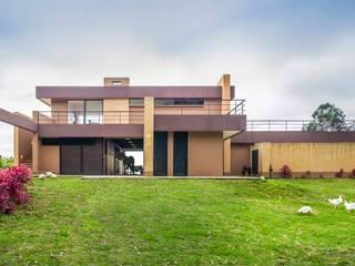 Casa del Patio Ecuestre Casas modernas de David Macias Arquitectura & Urbanismo Moderno
