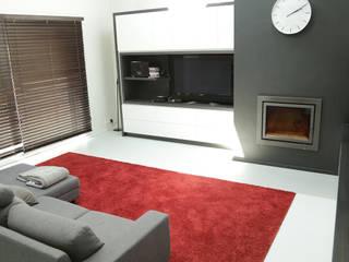 Tolenaert Salon minimaliste par BE-DESIGNER Minimaliste