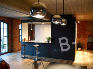 B4.3 Cuisine industrielle par BE-DESIGNER Industriel