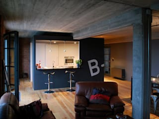 Industriële keukens van BE-DESIGNER Industrieel