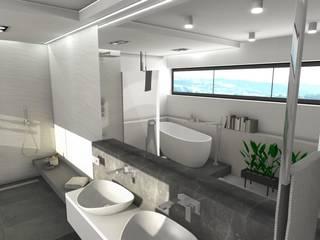 Modern Bathroom by Designbox Marta Bednarska-Małek Modern