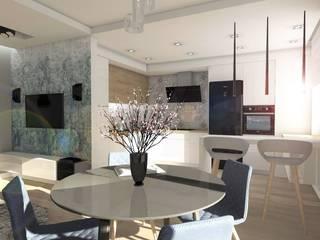 Modern Living Room by Designbox Marta Bednarska-Małek Modern