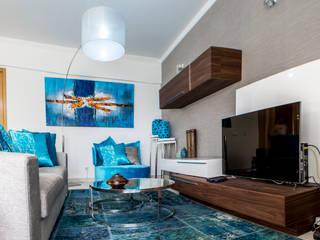 Moradia 20 Algarve Salas de estar modernas por Atelier Ana Leonor Rocha Moderno