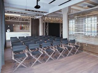 Визуализация конференц центра: Коммерческие помещения в . Автор – AT3D