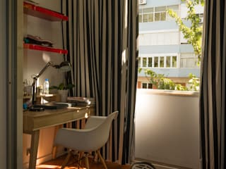 Dormitorios de estilo ecléctico de Atelier Ana Leonor Rocha Ecléctico