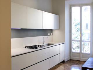 Via Colli Onice Architetti Cucina attrezzata Legno Bianco