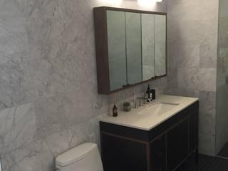 New York residential Bagno minimalista di 2P Trading srl Minimalista