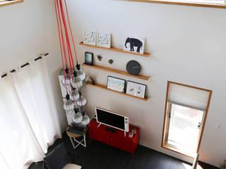 별아도 Modern living room by 아키제주 건축사사무소 Modern