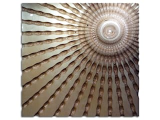 Ripple Sunburst:   by Carved Wall Art