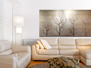 Winter Trees:   by Carved Wall Art