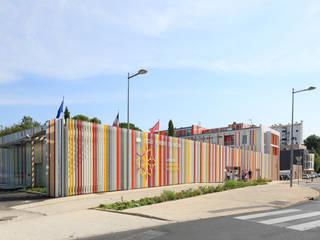 Restructuration et extension du lycée agricole Honoré de Balzac NBJ Architectes