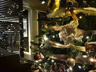 Decoración navideña hotel 4 estrellas en Las Ramblas de Barcelona de Cor d'estel Ecléctico