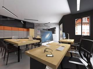 Oficinas de estilo moderno de Kameleon - Kreatywne Studio Projektowania Wnętrz Moderno