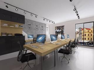 Modern style study/office by Kameleon - Kreatywne Studio Projektowania Wnętrz Modern