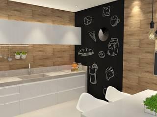 Cozinha: Cozinhas  por DUET Arquitetura,Moderno