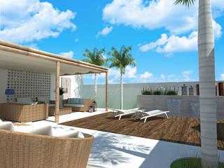 Residência Unifamiliar: Casas  por DUET Arquitetura,Minimalista
