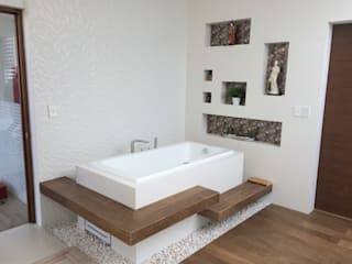 Tina Baños modernos de homify Moderno Madera Acabado en madera