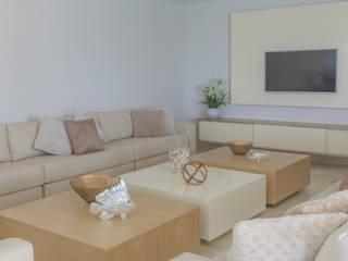 Proyecto sala Livings de estilo moderno de Monica Saravia Moderno