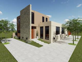 Moderne huizen van Florencia Tascón - Arquitecta Modern