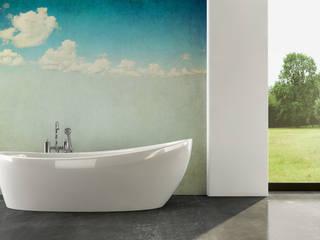 Cloudy Sky Modern bathroom by Pixers Modern