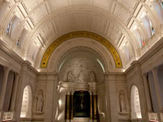 Reabilitação Santuário de Nossa Senhora do Rosário de Fátima Janelas e portas minimalistas por BauStahl, Lda Minimalista